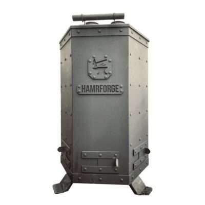 Hamrforge Double Barrel Barrel Smoker