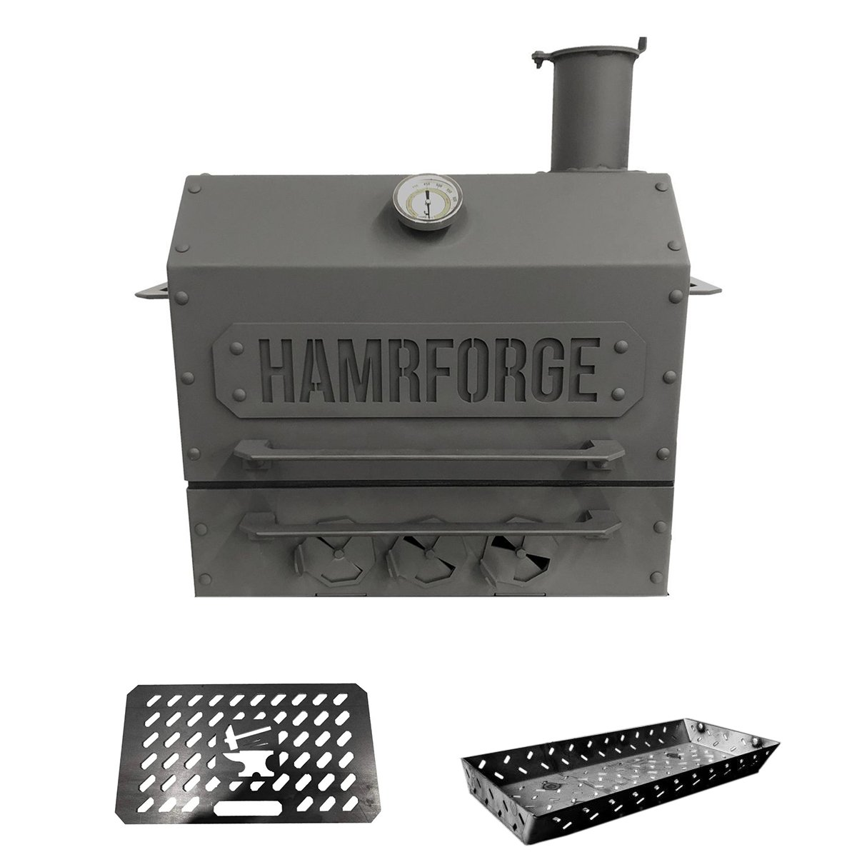 Hamrforge Old Iron Sides Grill Bundle