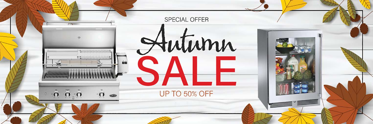 autumn sale at the outdoor store